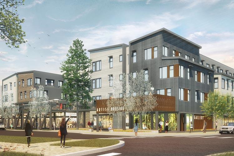 Artist Lofts-Truckee, CA-Lowney Architecture