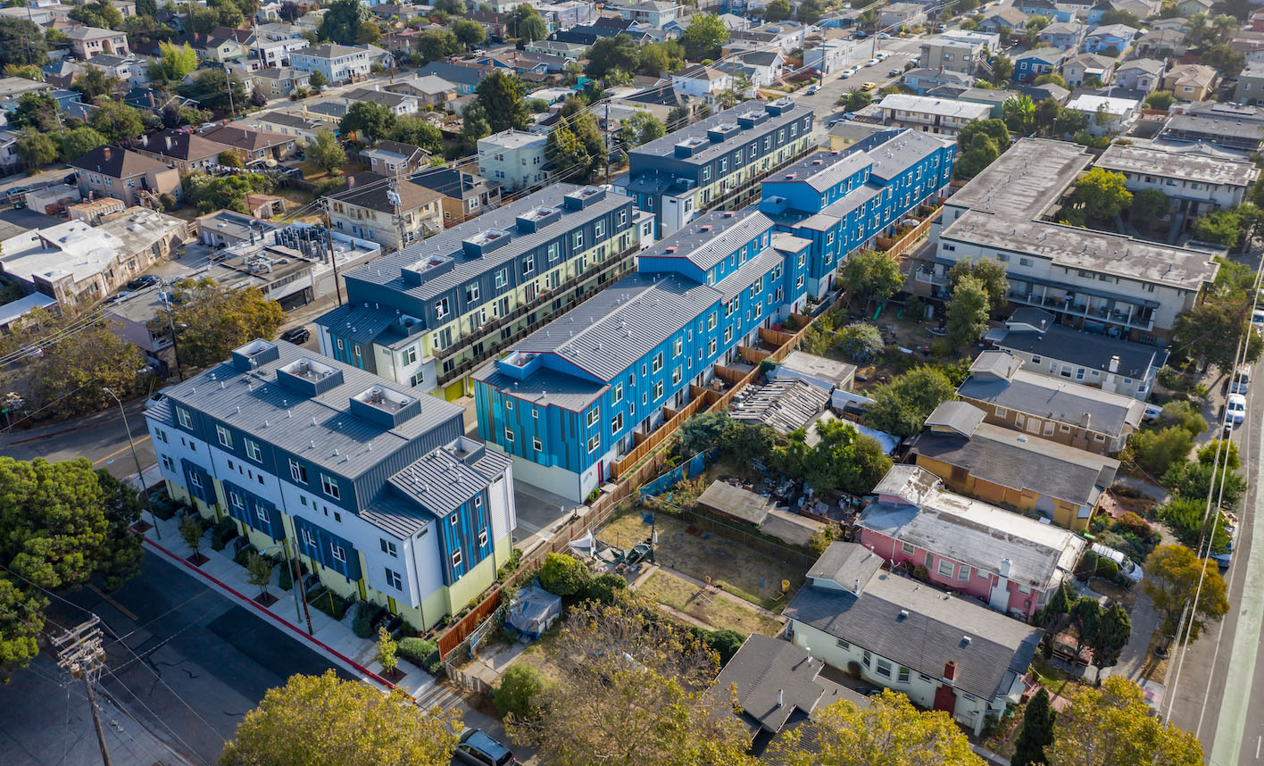41st Townhomes-San Leandro, CA-Lowney Architecture