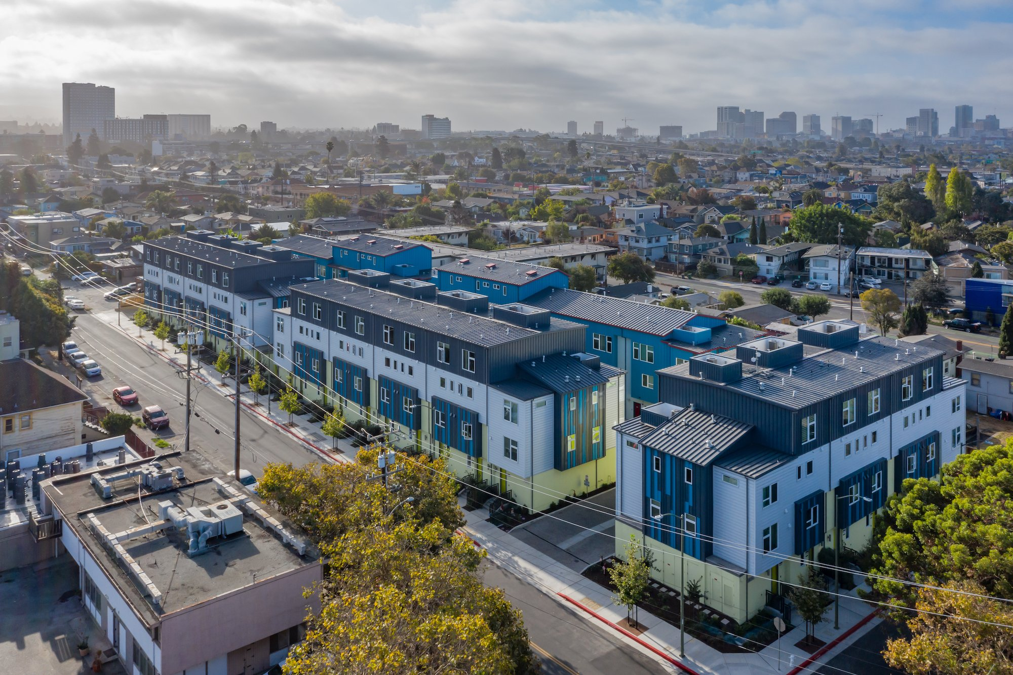 41st Townhomes-Oakland, California-Lowney Architecture-1