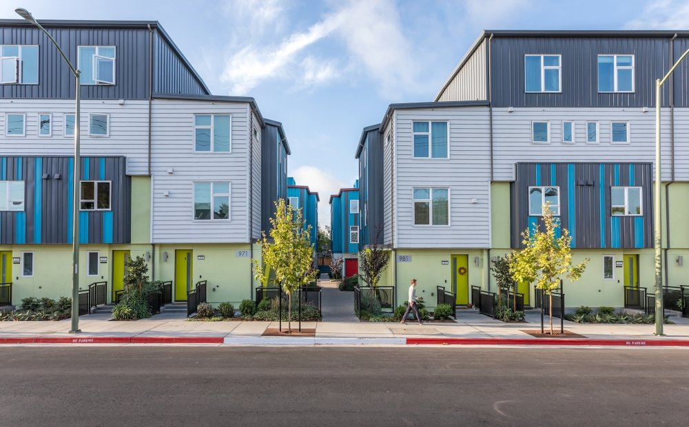 41st Townhomes-Oakland, California-Lowney Architecture-3