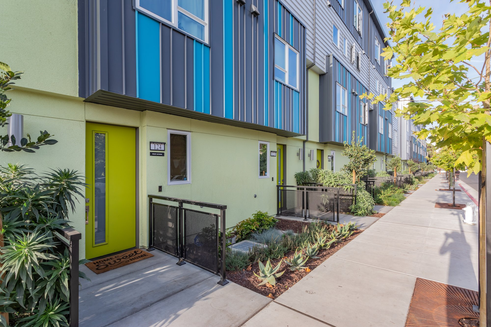 41st Townhomes-Oakland, California-Lowney Architecture-4
