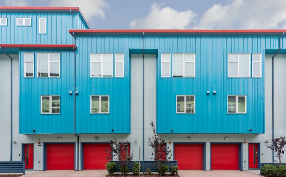 41st Townhomes-Oakland, California-Lowney Architecture-8