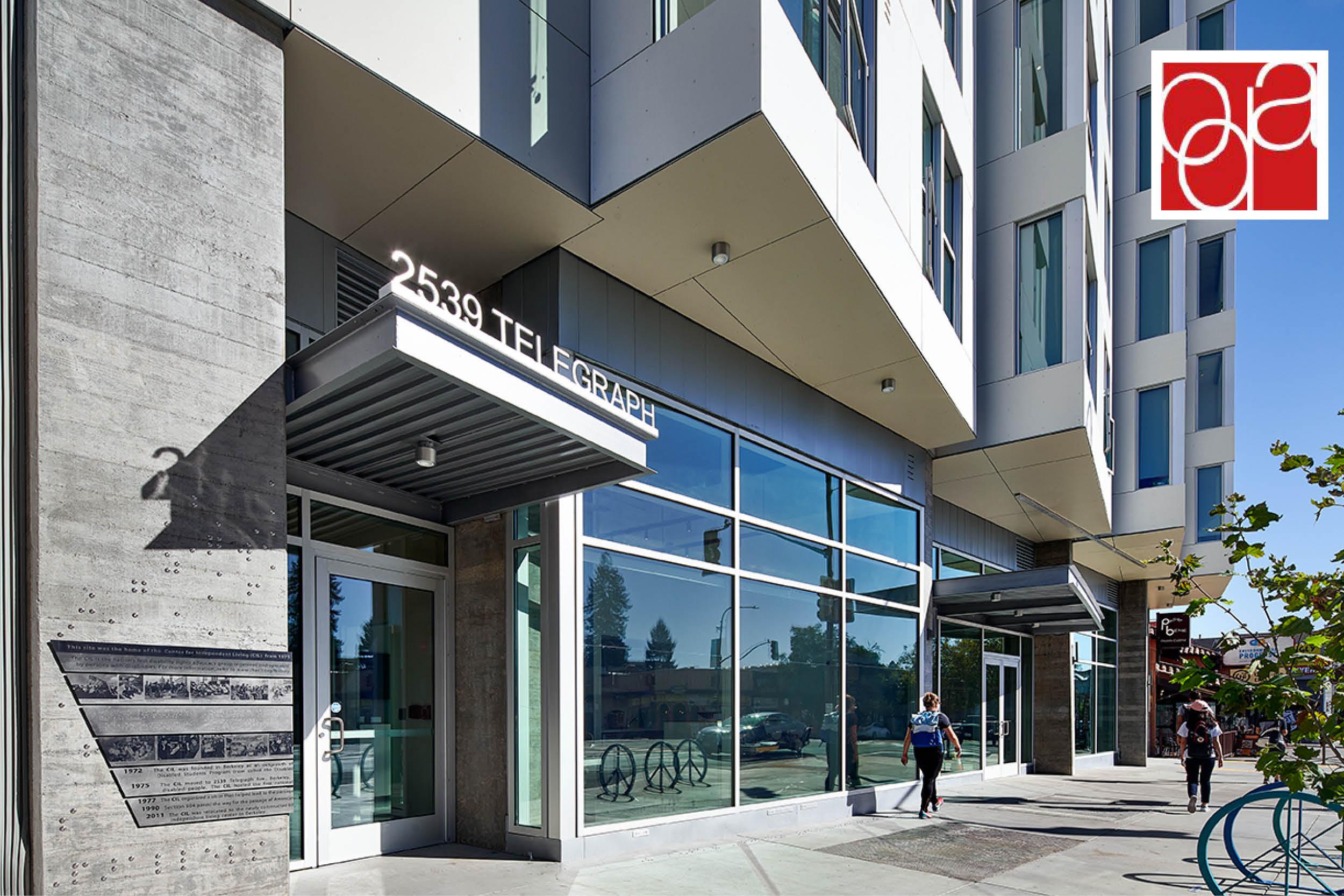 Project Spotlight: The Nexus Receives Berkeley Design Advocate Award-April 27, 2021-Lowney Architecture