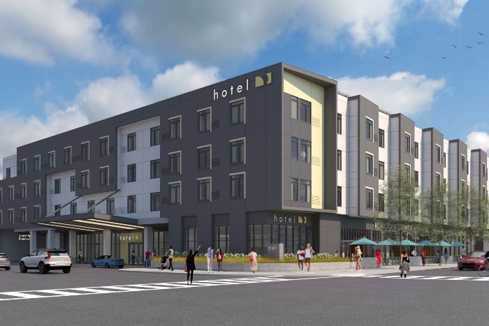De Anza Blvd Hotel-San Jose, CA-Lowney Architecture