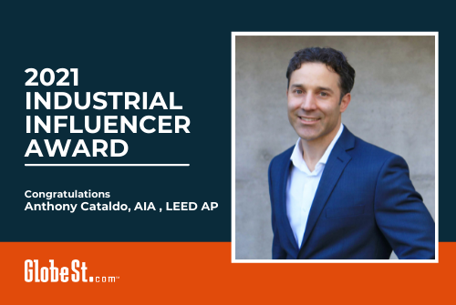 Anthony Cataldo named Industrial Influencer by GlobeSt.com